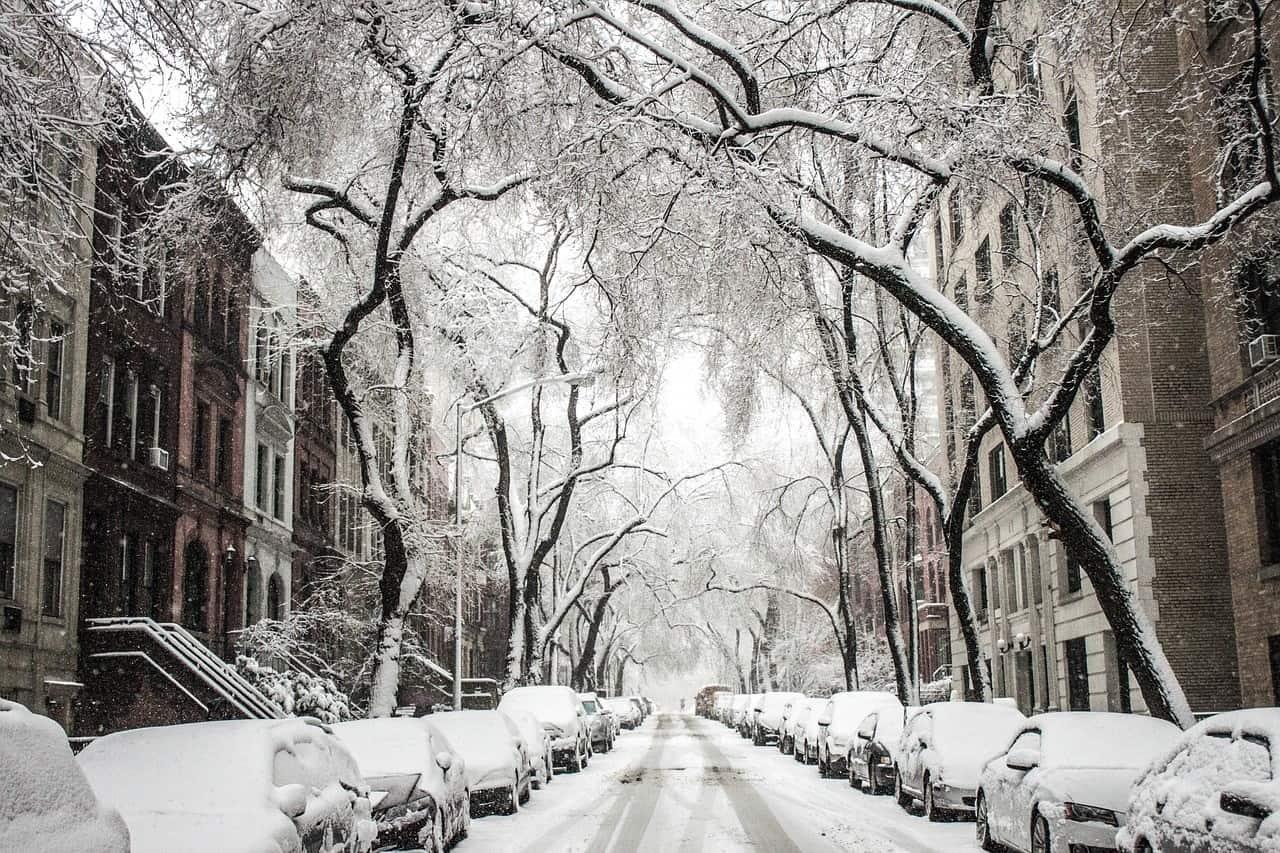 Opady śniegu we wtorek