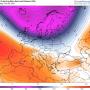 Pogoda długoterminowa na 16 dni dla Polski. Wir polarny dalej silny, lecz zacznie słabnąć, opady śniegu, mieszane i deszczu oraz burze