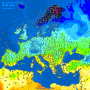 Pogoda. Uderzenie chłodu w Europie, a na Półwyspie Iberyjskim prawie upał. Burze na południu Europy. Dynamiczna pogoda na kontynencie