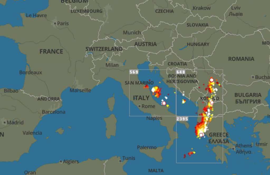 silne burze w europie