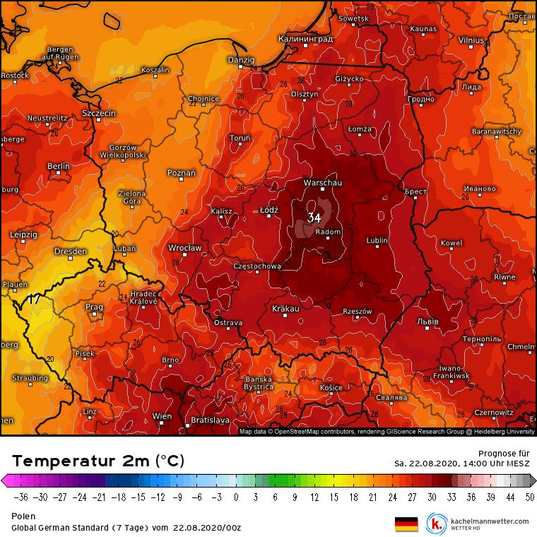 upał w Polsce