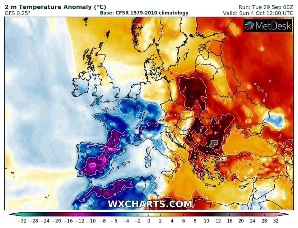 Anomalia temperatury