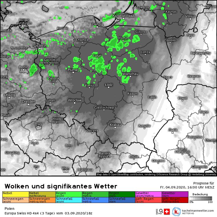 deszcz w Polsce