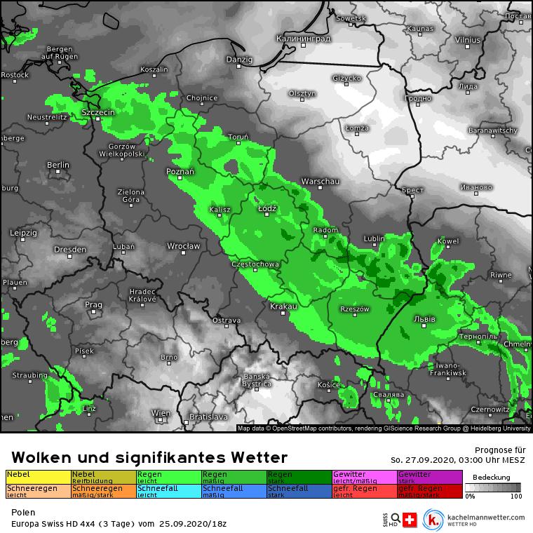Ulewy nad Polską