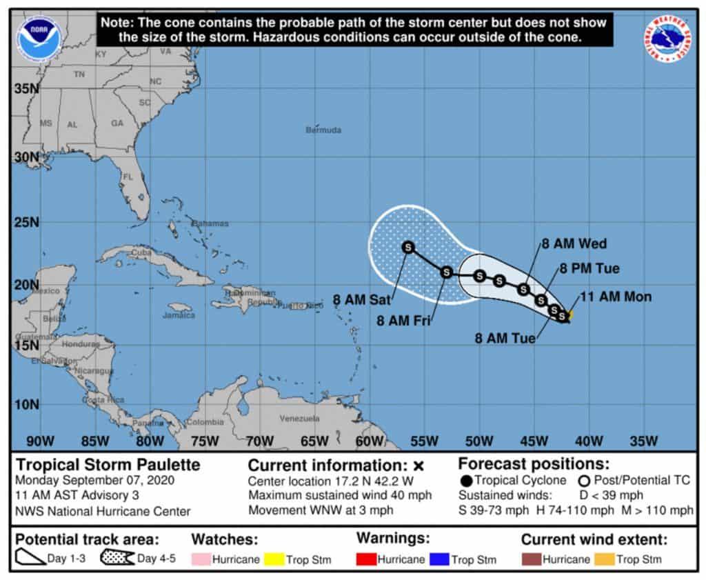huragany na atlantyku