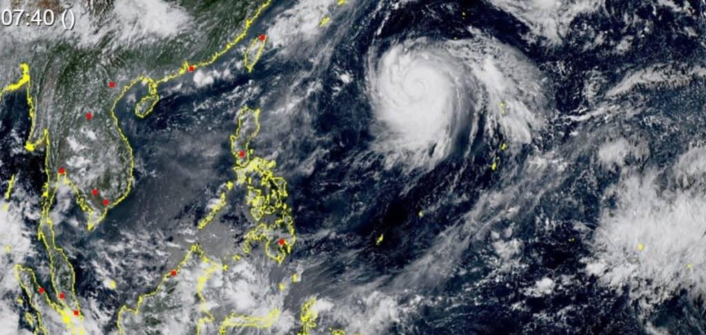 tajfun Japonia