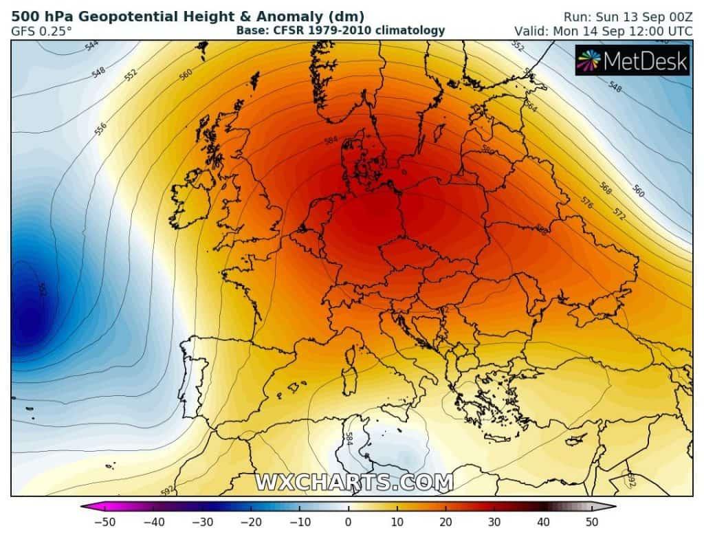 gorąco w Polsce