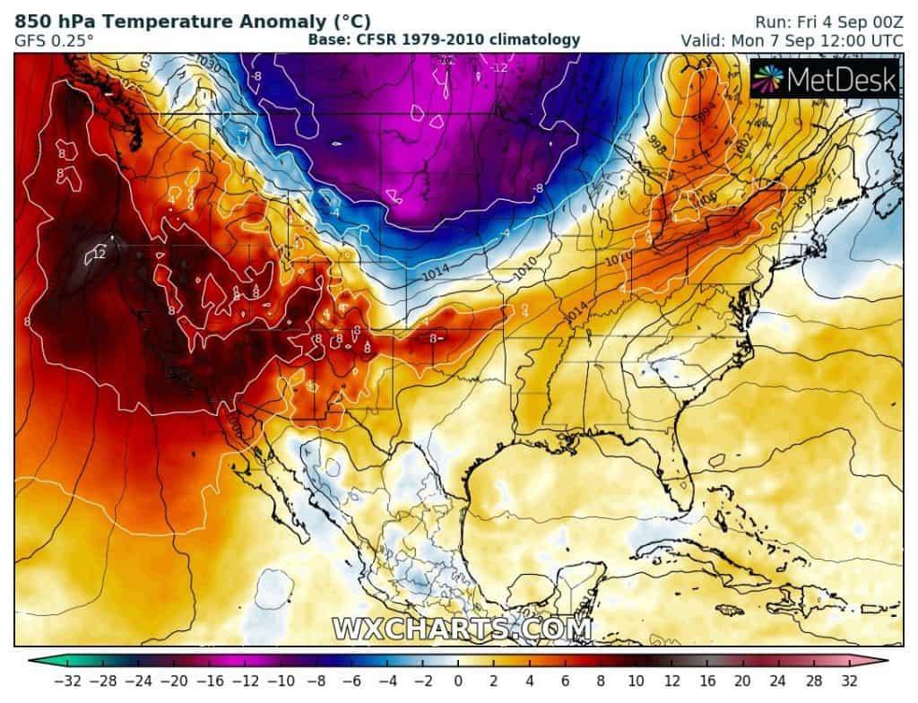 załamanie pogody w USA