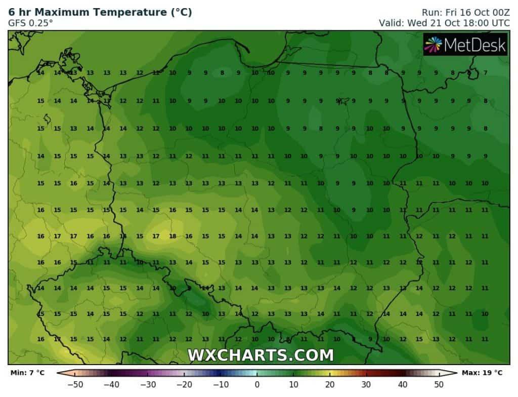 Ciepło w Polsce