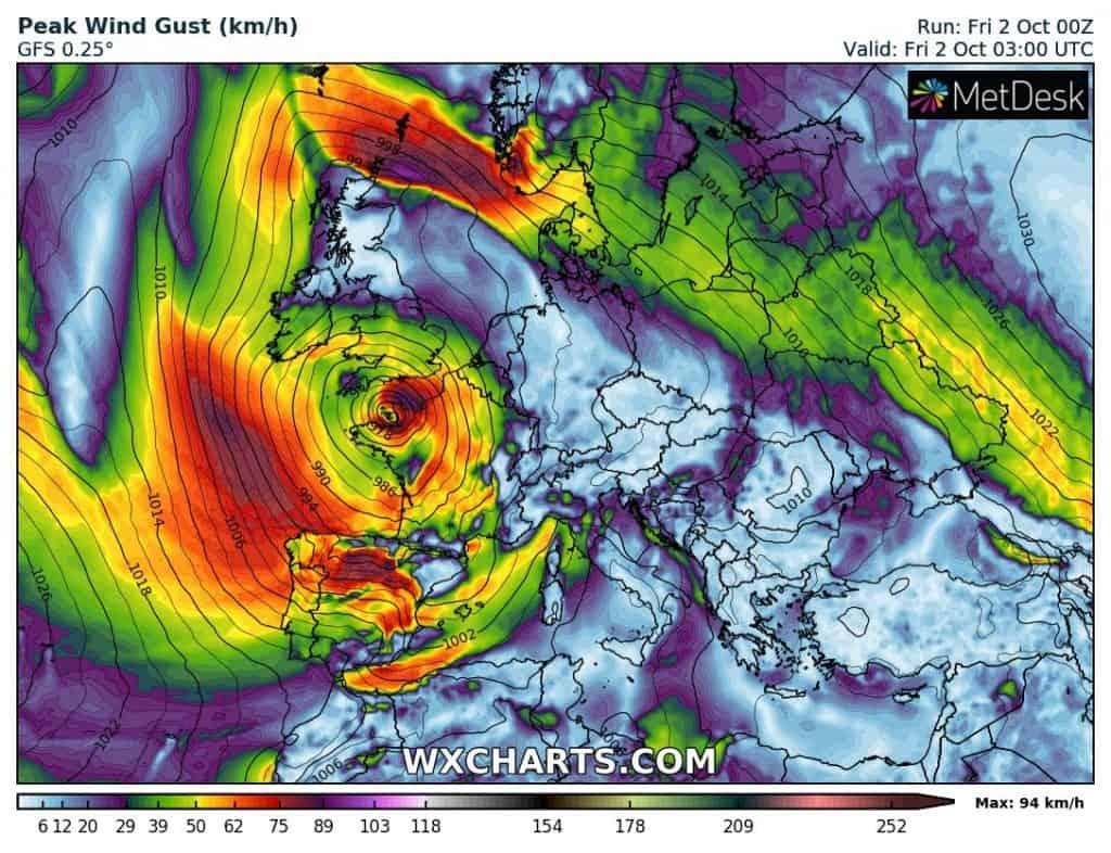 Wiatr w Europie