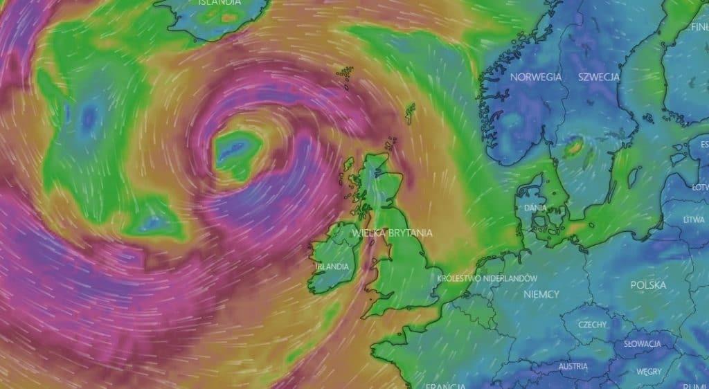 Wichura w Europie