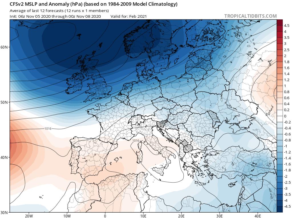 Pogoda na zimę 2020 dla Polski.