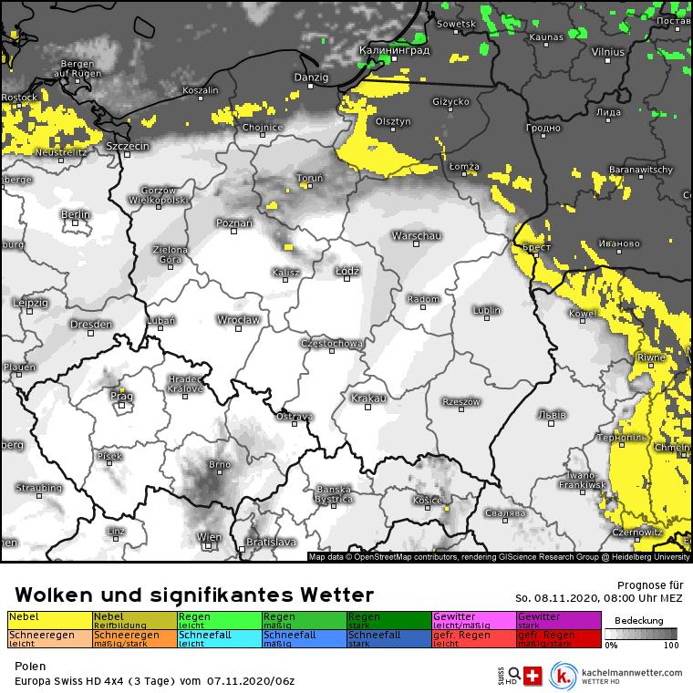 Brak opadów. Mgły w Polsce w niedzielę