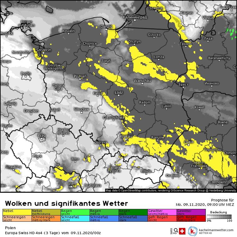 Mgły nad Polską