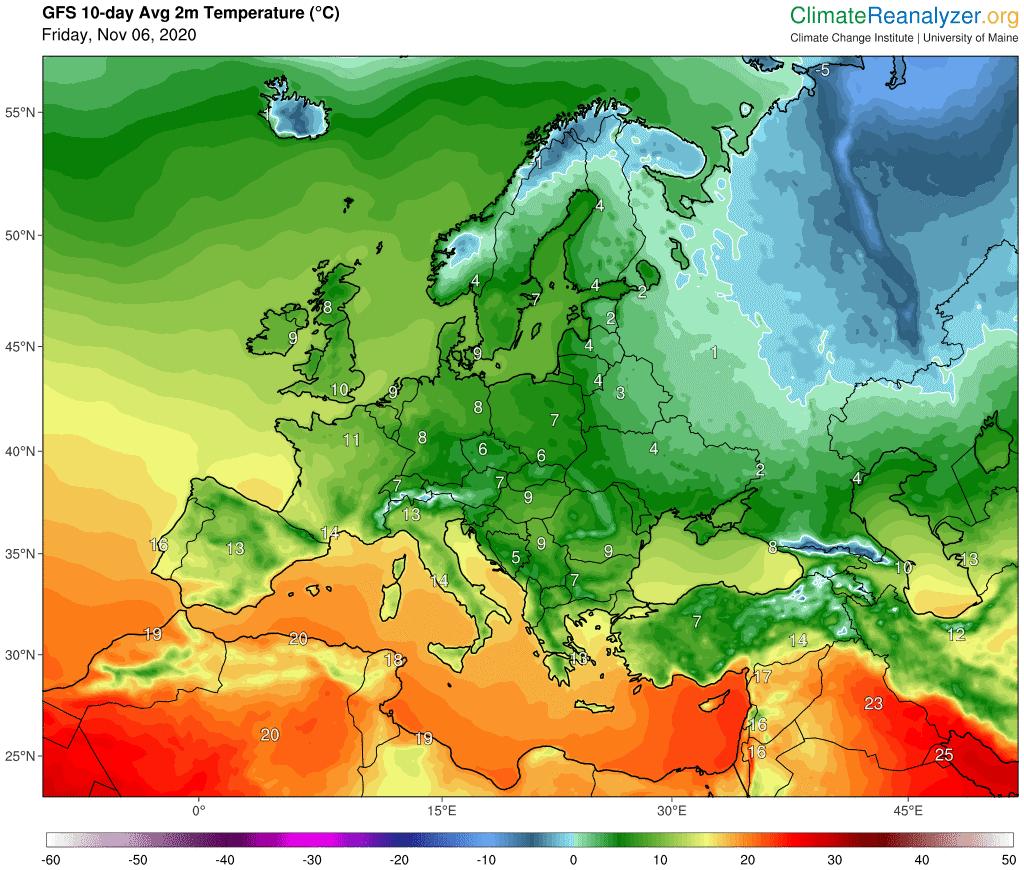 Pogoda na 10 dni dla Polski. Uderzą przymrozki, będą zgniłe wyże i niewiele opadów