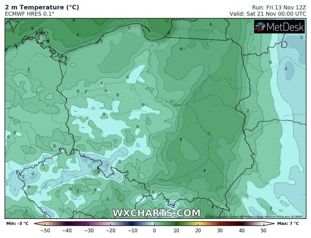 Mróz w Polsce
