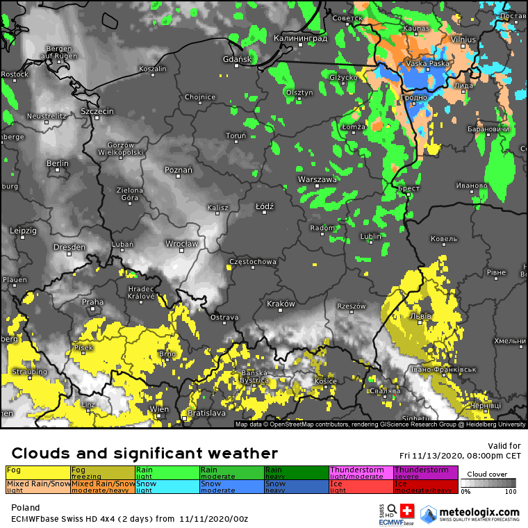 Pogoda. Śnieg nadchodzi do Polski. Sprawdź, gdzie możliwe są opady białego puchu