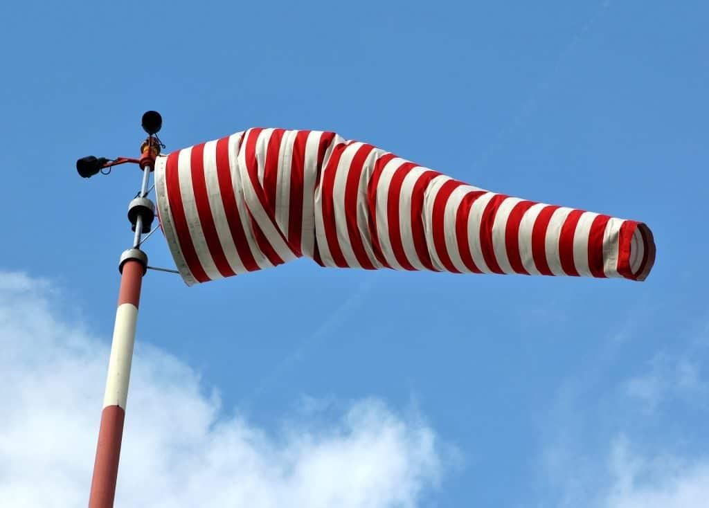 Silny wiatr w Polsce