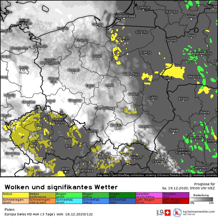 Mgły w Polsce