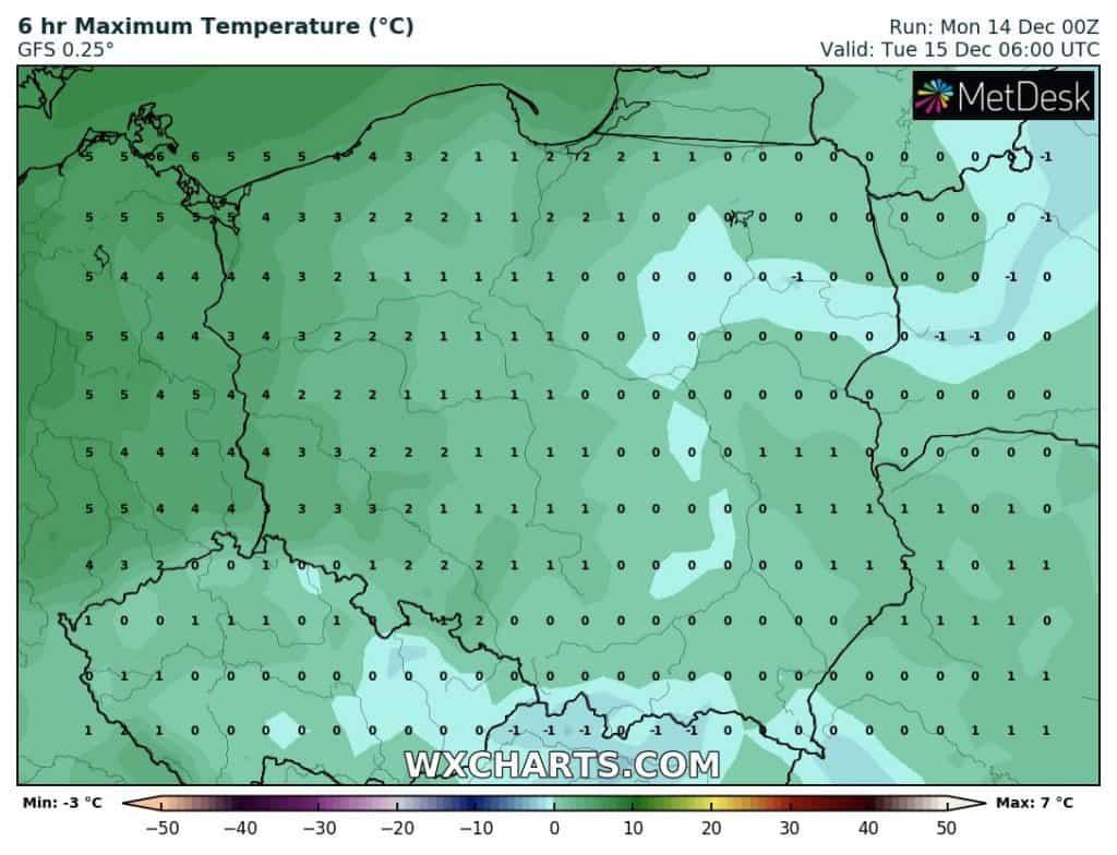 Temperatura Polski