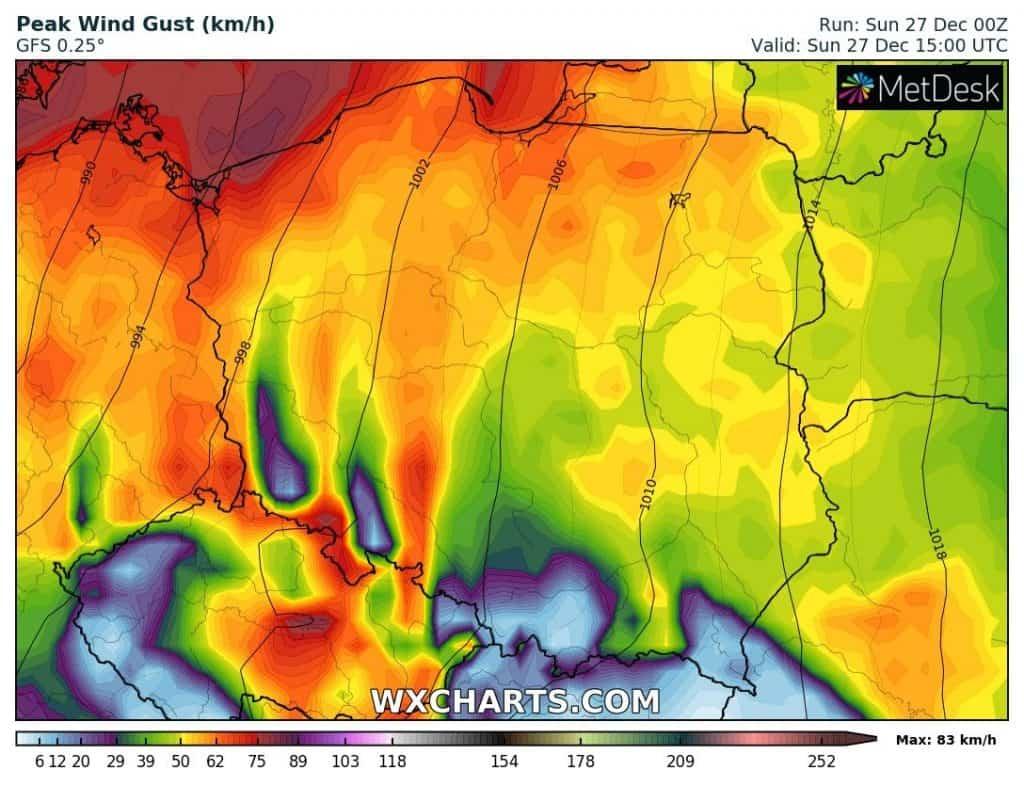 Wiatr w Polsce