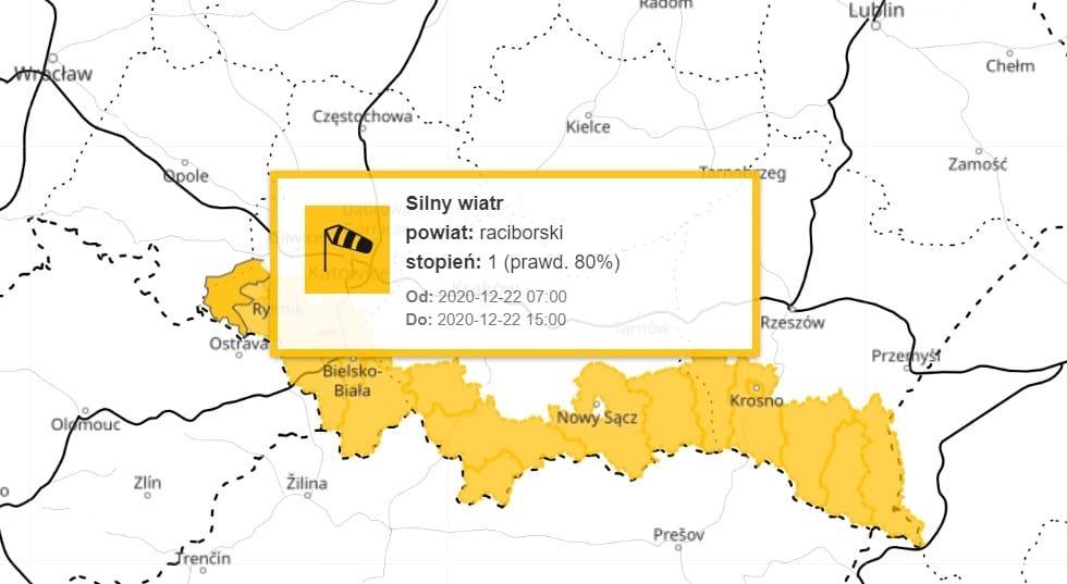 Wichura w Polsce