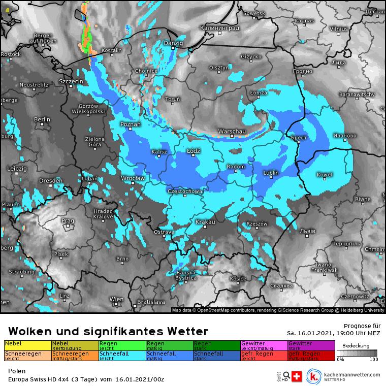Śnieżyca przyniesie intensywne opady w Polsce