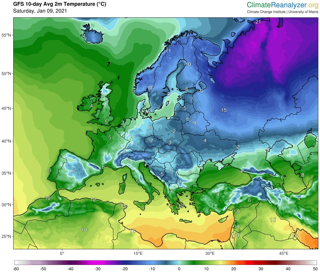 """Pogoda. """"Wojna modeli"""". Mróz poniżej -20°C w prognozach dla Polski i burze"""