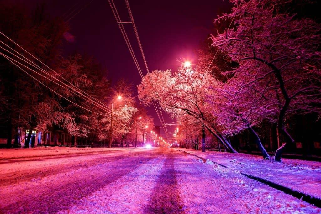 śnieżyca w Polsce 16.01