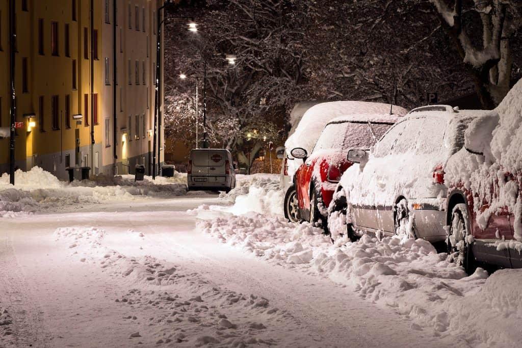 Śnieg w Polsce i Europie
