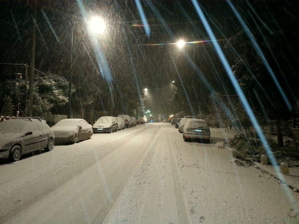 Opady śniegu w Polsce