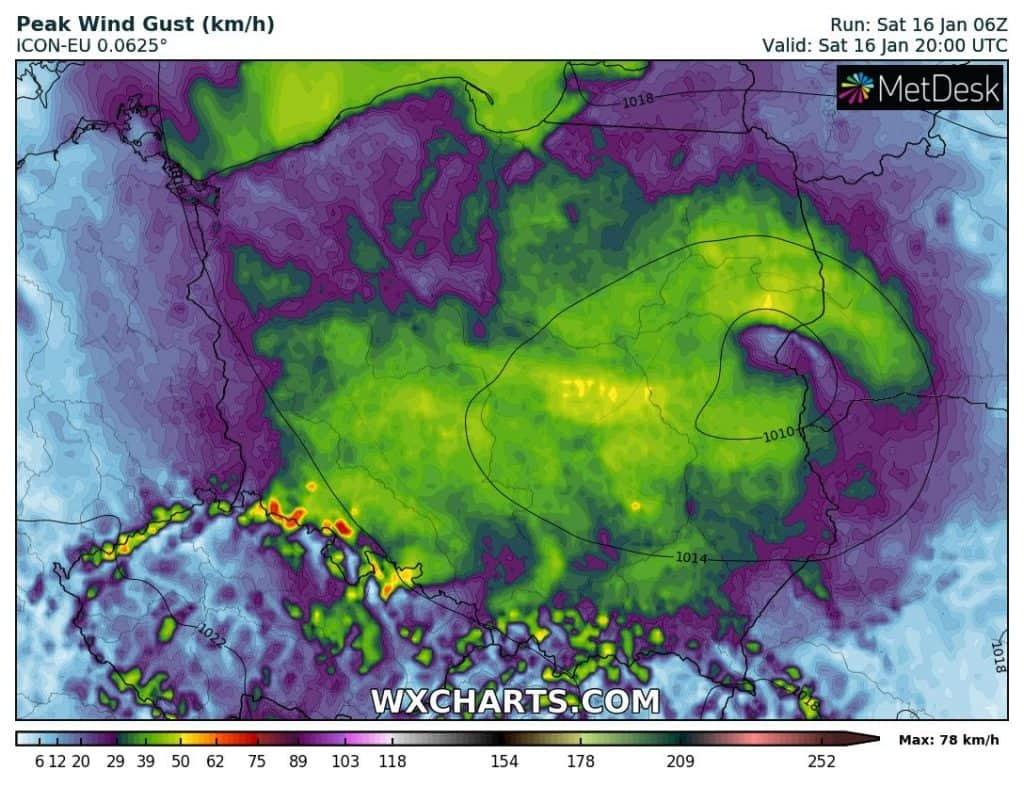 Prognoza pogody na noc. Mróz i śnieg w Polsce