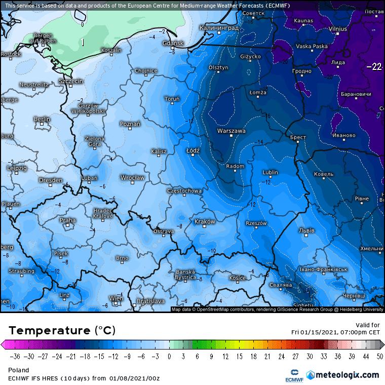 Pogoda. Szansa na większy mróz i śnieg w Polsce