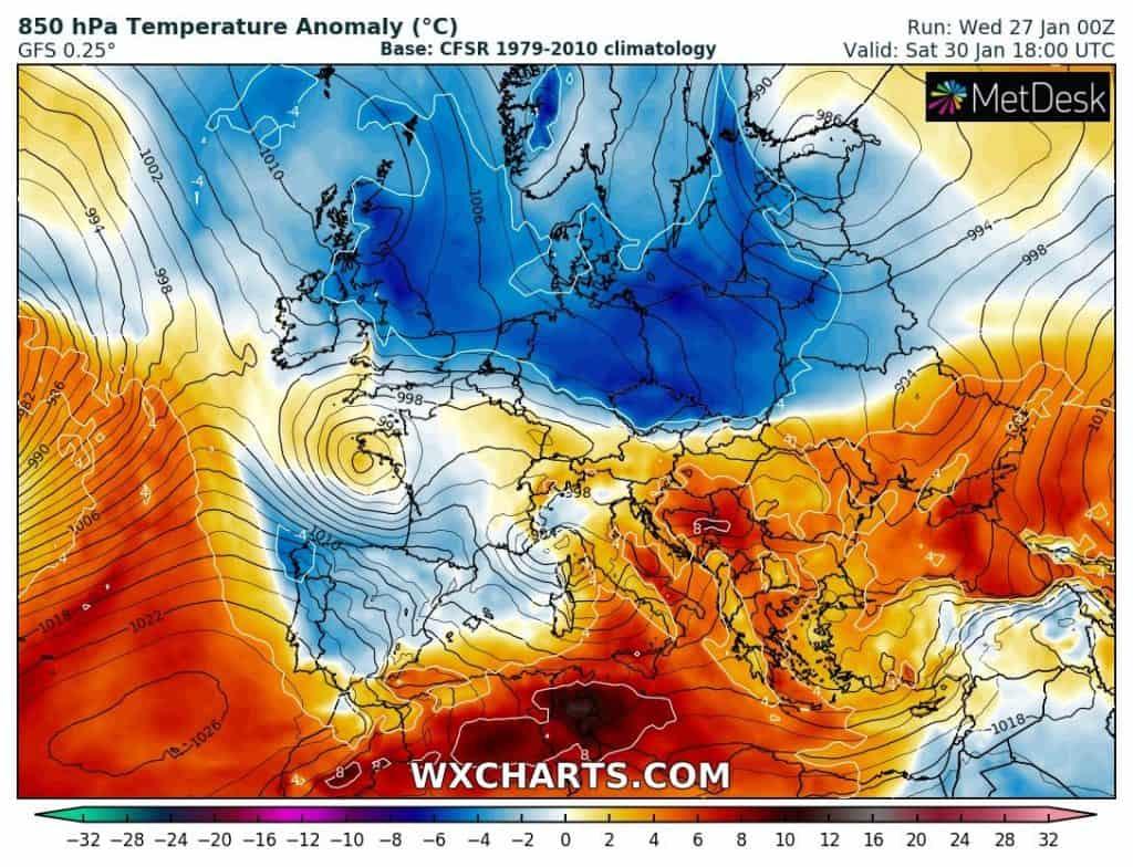Zima w Europie i w Polsce