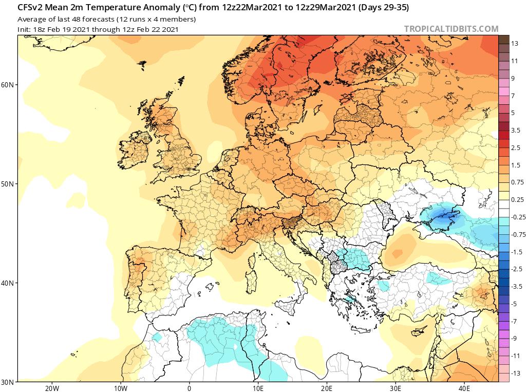 Marzec 2021 pogoda