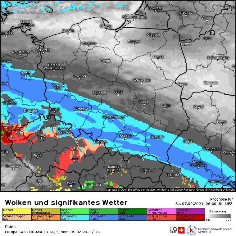 Silna śnieżyca od niedzieli w Polsce