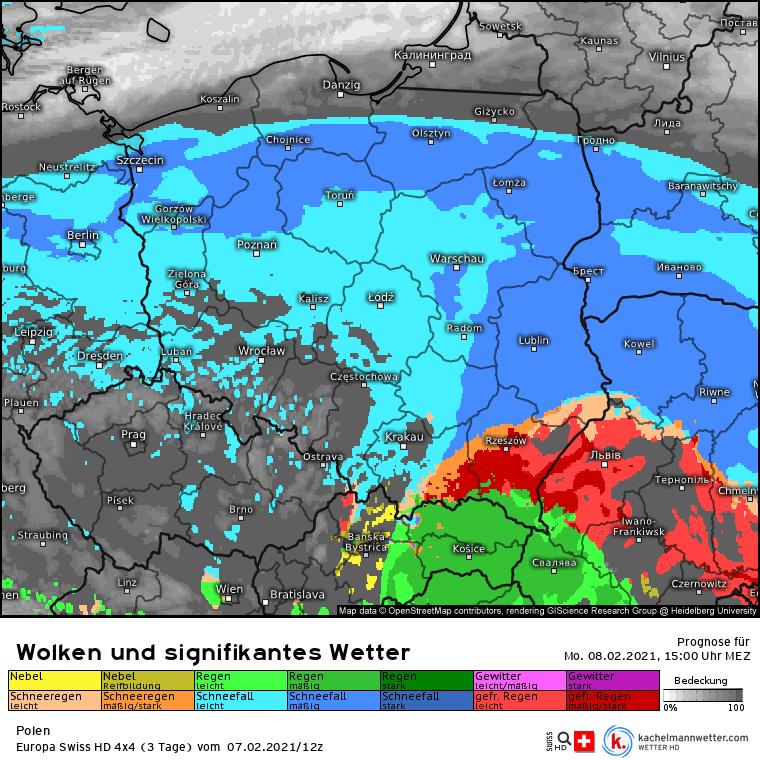 Do kiedy śnieżyca w Polsce