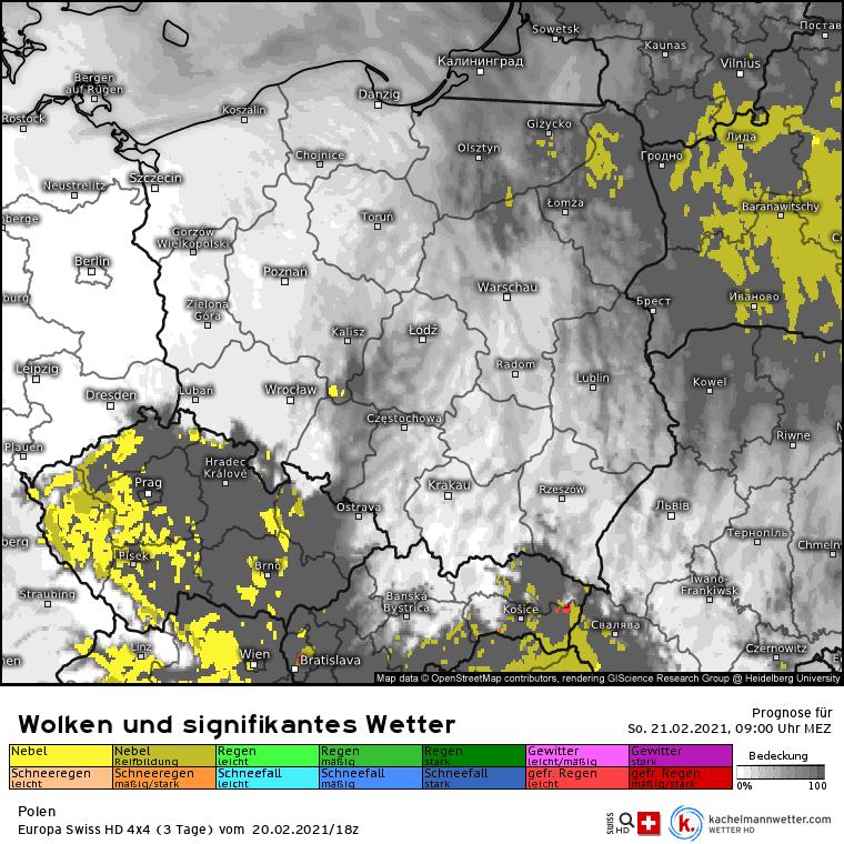 Poranne mgły szybko ustąpią. Niebo w niedzielę nad Polską powinno być bezchmurne.