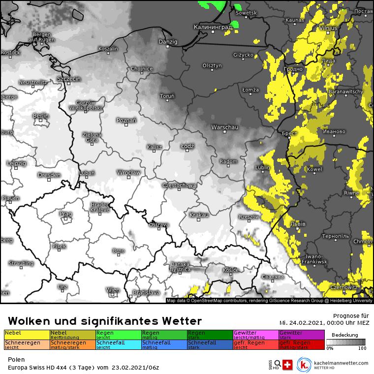 Mgły nad Polską. Noc 23-24 lutego