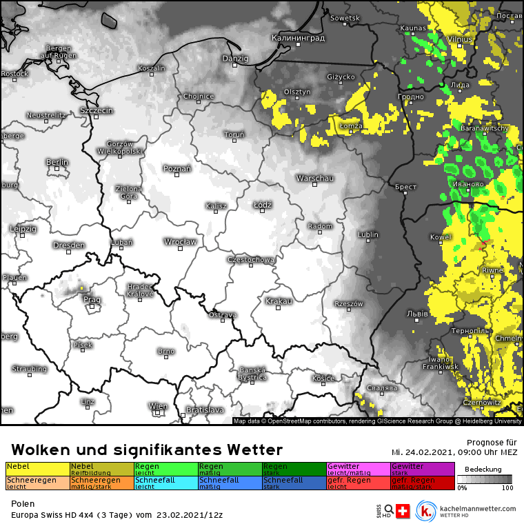 Brak opadów w Polsce, możliwe mgły
