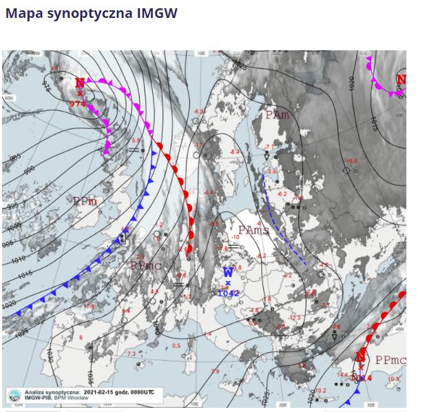 Pogoda. Mroźna noc w Polsce i poranek. Mróz -22 stopnie w kraju.