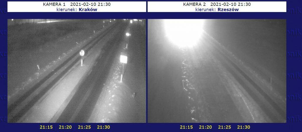 śnieżyca na południu Polski