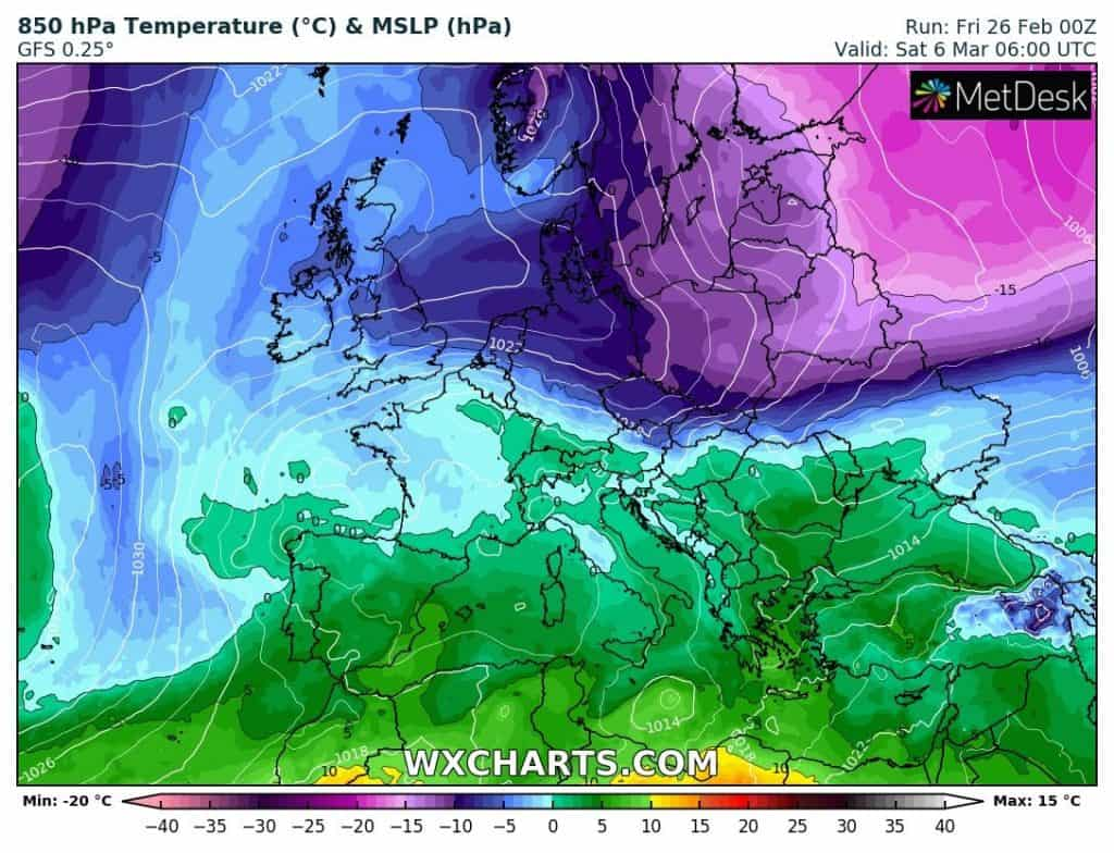 Jest ciepło, ale mróz i zima wrócą do Polski