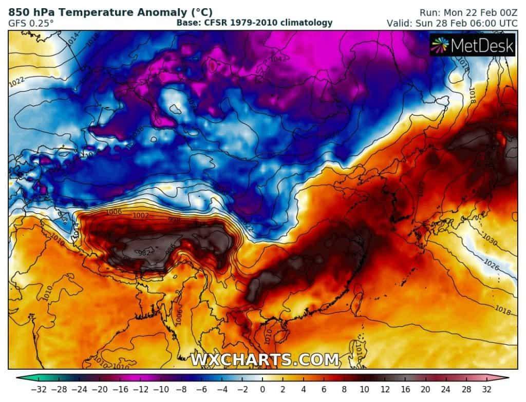 Rekordowa zima 2021, a teraz prawie upał