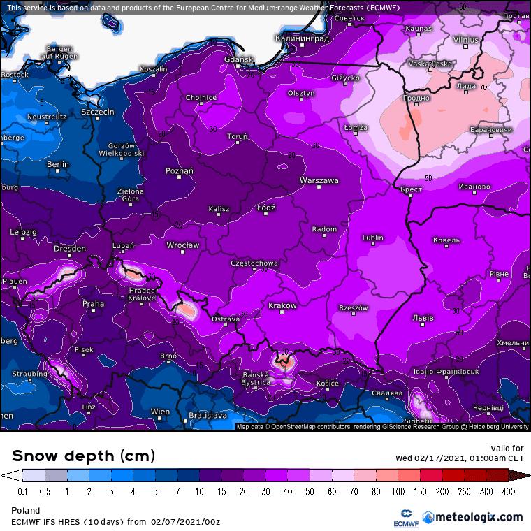 Śnieg Polska
