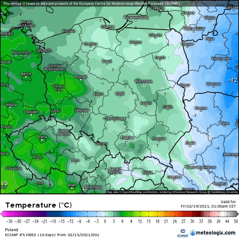 Temperatura piątek, cz.2