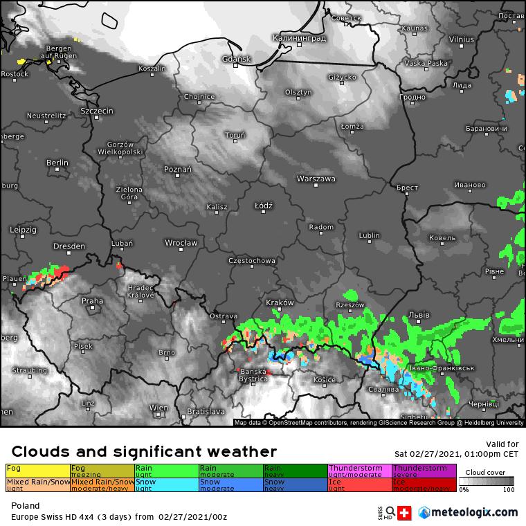 Pogoda. Sobota w Polsce