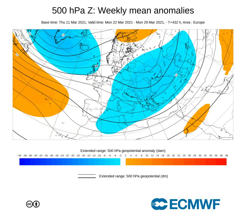 Anomalia w środkowej troposferze