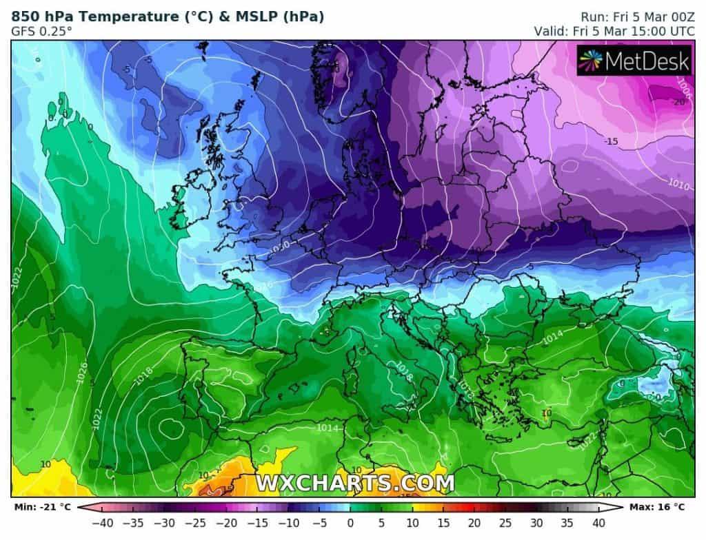 Atak zimy, arktyczne powietrze nad Polską