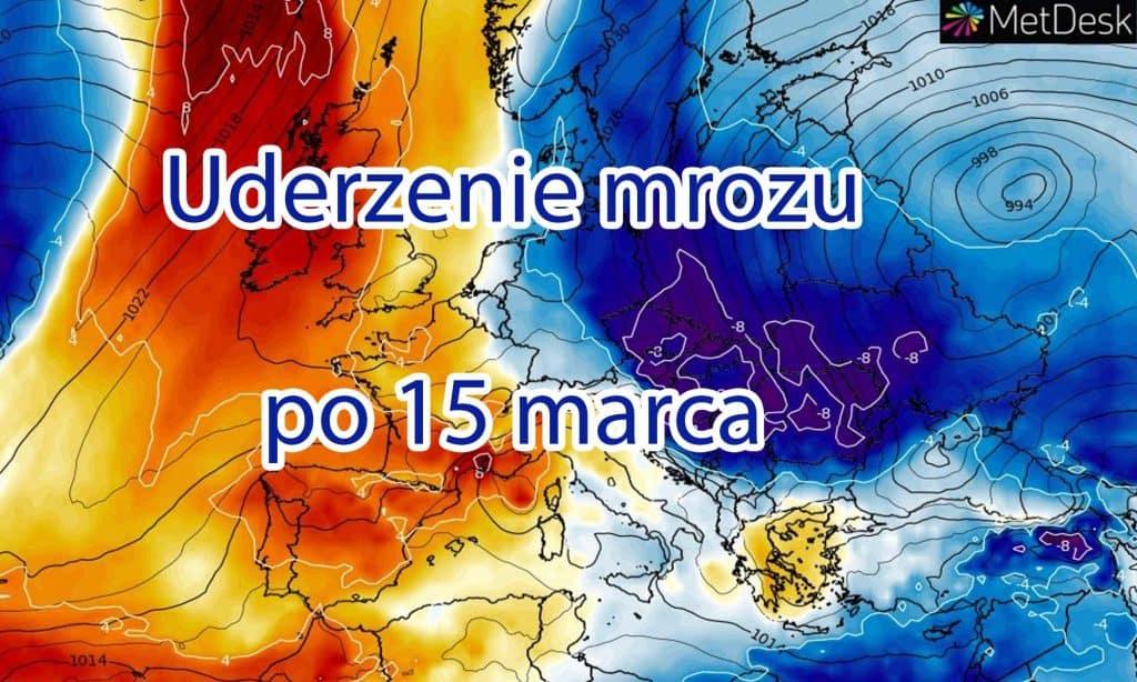 Atak zimy i mróz w Polsce